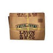 Fresh Thyme Lawn & Leaf Bags