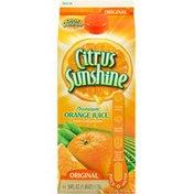 Citrus Sunshine Premium Original Orange Juice