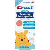 Crest Training Toothpaste, featuring Disney's Winnie the Pooh, Mild Strawberry