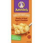 Annie's Macaroni & Cheese, Shells & Real Aged Cheddar