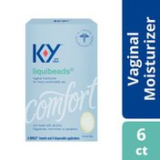 K-y® Personal Lubricant, Liquibeads Vaginal Moisturizer, Supplement Natural Moisture for Comfort and Sex