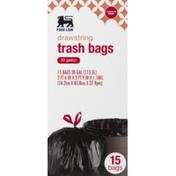 Food Lion Drawstring Trash Bags