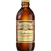Budweiser Discovery Reserve American Red Lager Beer Bottle