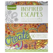 Crayola Pages for Coloring, Unique, Inspired Escapes
