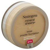 Neutrogena® Foundation, Loose Powder, Honey Beige 70