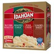 Idahoan Flavored Mashed Potatoes Variety Pk (BH,RG,4C,LB)
