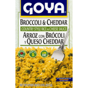 Goya Country Style Rice & Cheese Sauce Broccoli & Cheddar