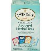 Twinings Assorted Herbal Variety Pack Tea Bags