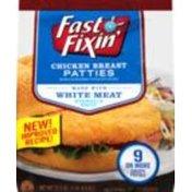 Fast Fixin Patties, Chicken Breast