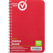 Simply Done Memo Book, Ruled