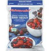 Schnucks Whole Unsweetened Freshly Frozen Berry Medley