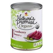 Nature's Promise Organic Cranberry Sauce