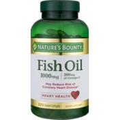 Nature's Bounty Fish Oil, 1000 mg, Coated Softgels