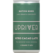 Upriver Nitro Cacao Latte, Matcha Mama