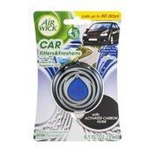 Air Wick Car Air Freshener Vent Clip New Car & Ocean Drive Fragrance