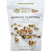Creative Snacks Co. Almond Clusters, Baked with Chia, Hemp, Pumpkin & Sunflower Seeds