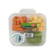 Del Monte Grapes, Apples & Cheese Snack Tray With Crackers