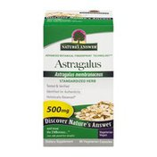 Nature's Answer Astragalus Standardized Herb - 60 CT