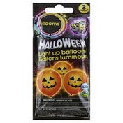 Illooms Balloons, Light Up, Halloween