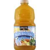 Langers Juice Cocktail, Pineapple Orange Coconut, Island Blend