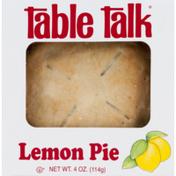 Table Talk Pie Lemon
