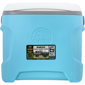 Igloo Cooler, Contour, Aquamar, 30 Quart