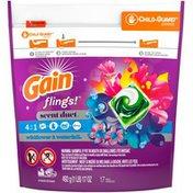 Gain Flings Laundry Detergent Pacs, Wildflower & Waterfall
