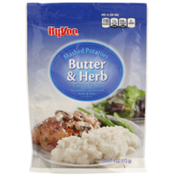 Hy-Vee Butter & Herb Real Mashed Potatoes Seasoned With Butter & Herbs