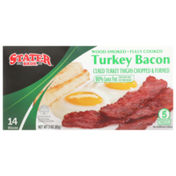 Stater Bros. Markets Wood Smoked Fully Cooked Turkey Bacon