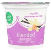 Food Club Vanilla Blended Lowfat Yogurt