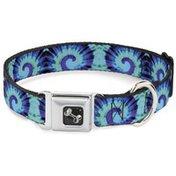 "Buckle-Down Mbkl 1"" Large Tiedye Dog Collar"