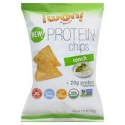 I Won Organics Protein Chips, Ranch