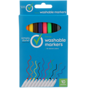 Simply Done Fine Tip Washable Markers