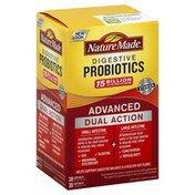 Nature Made Advanced Dual Support Digestive Probiotics Capsules