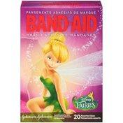 Band-Aid Johnson & Johnson Band Aid Disney Fairies Assorted Sizes Adhesive Bandages