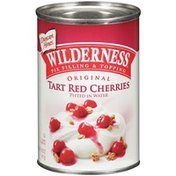 Wilderness Original Tart Red Cherries Pitted In Water Pie Filling & Topping