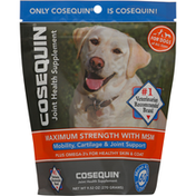 Cosequin Joint Health Supplement, Maximum Strength with MSM, Soft Chews
