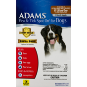 Adams Flea & Tick Spot On For Dogs Extra Large Dogs