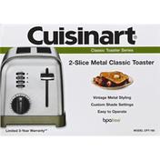 Cuisinart Toaster, 2-Slice, Metal Classic