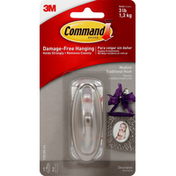 3M Command Traditional Hook, Decorative, Medium