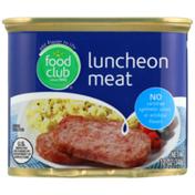 Food Club Luncheon Meat