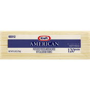 Kraft Processed American White Cheese