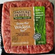 Pasture Perfect Grass-Fed, Wagyu Ground Beef