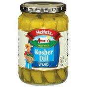 Heifetz Kosher Dill Spears Pickles