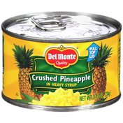 Del Monte Crushed in Heavy Syrup Pineapple