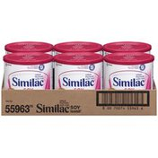 Similac Soy Isomil Soy W/Iron 12.4 Oz Canisters Infant Formula