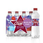 Ozarka Sparkling Water, Triple Berry
