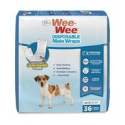 Four Paws Extra Small Wee-Wee Disposable Male Dog Wraps