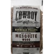 Cowboy Barbeque Pellets, Mesquite Wood