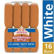Brownberry/Arnold/Oroweat Restaurant Style Classic Hot Dog Rolls